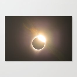 Totality 2017. Canvas Print