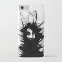 wrestling iPhone & iPod Cases featuring Coiling and Wrestling. Dreaming of You by Rouble Rust
