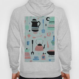 Kitschy Kitchen in Minty Hoody