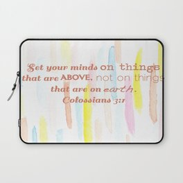 On thing above - illustration Laptop Sleeve