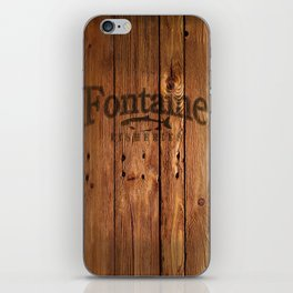Fontaine Fisheries Crate iPhone Skin