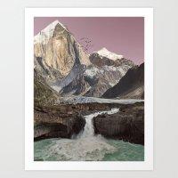 Foreign Lands Art Print