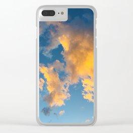 Clouds_002 Clear iPhone Case