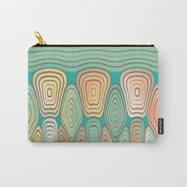 Layered squares Carry-All Pouch
