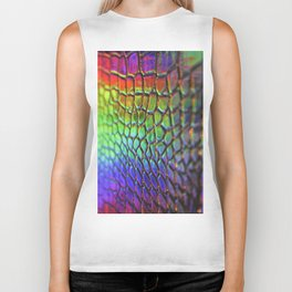 Rainbow Skin 1 Biker Tank