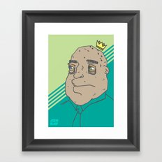 King Sh... Framed Art Print