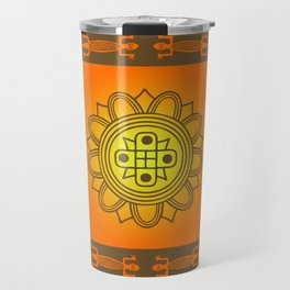 African design Travel Mug