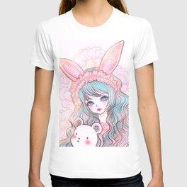 bunbunjii bluehair *GirlsCollection* T-shirt
