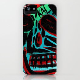 Kal - Abstract expressionism portrait iPhone Case