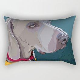 Jake Dog Rectangular Pillow