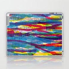 stripes traffic Laptop & iPad Skin