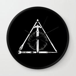 wand Wall Clock