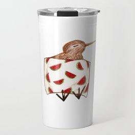 Sleepy Kiwi Travel Mug
