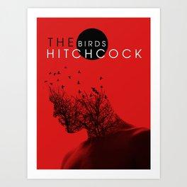 The Birds Of Hitchcock Art Print