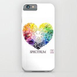 Spectrum Rainbow Heart iPhone Case