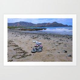 Return to Costa Rica Art Print