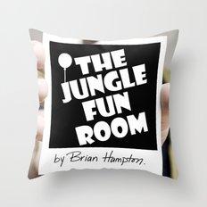 The Jungle Fun Room: Initiation Artwork Throw Pillow