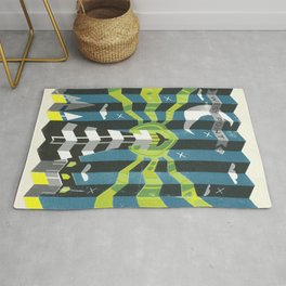 Haunted West Point Light House Rug