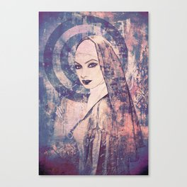 Saucy Sister Canvas Print