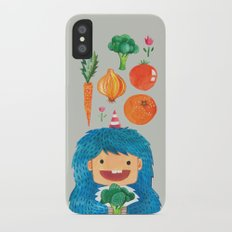 Broccoli Veggie Monster iPhone X Slim Case