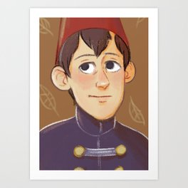 Wirt | Over the Garden Wall Art Print