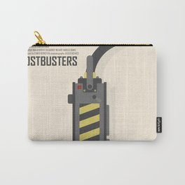 Ghostbusters poster, BIll Murray, Peter Venkman, Harold Ramis, Ghost trap, Ivan Reitman, alternative film print Carry-All Pouch