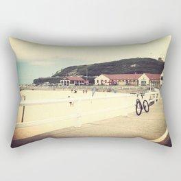 Nobby's Beach Rectangular Pillow