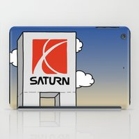 saturn iPad Cases featuring Saturn by Josh LaFayette