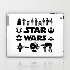 Star Characters Wars Laptop & iPad Skin