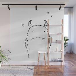 Yeti Illustration Wall Mural