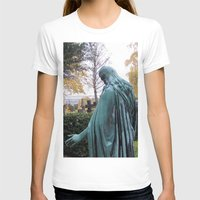 """oslo T-shirts featuring Dietro la chiesa (Oslo) """"A SAFE PLACE"""" series by Federico Faggion"""