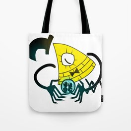 Bill Cipher Tote Bag