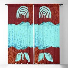 Duality - Fantasy Dream Winter Landscape Blackout Curtain