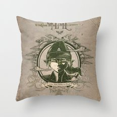 Legend of Zelda Link The Hero of Time Vintage Story Book Throw Pillow