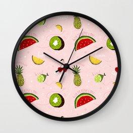 Froot Wall Clock