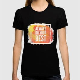 Motivation inks poster. Text lettering of an inspirational saying. Grunge paint vector element set. T-shirt