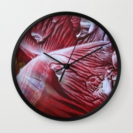 A Heart in Transition Wall Clock