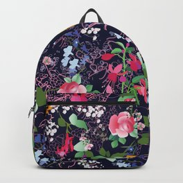 Flowers and Lace Backpack