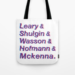 Godfathers of Psychedelia Tote Bag