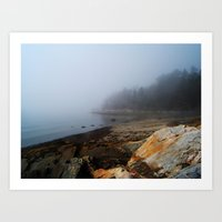 maine Art Prints featuring Maine by Charlotte Grant