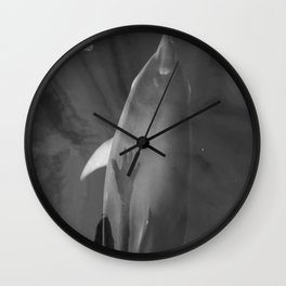 Human Dolphin connection Wall Clock