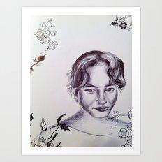 Gentle Spirit  Art Print