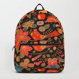 Funny khokhloma pattern Backpack