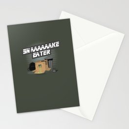 Snaaake Eater Stationery Cards