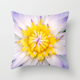 Flower photography by Hoover Tung Throw Pillow
