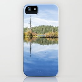 The Snag at Clear Lake iPhone Case