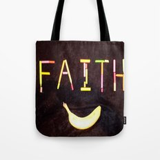 FAITH-B-SMILE Tote Bag