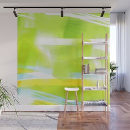 In Between Yellow, Green and Blue - JUSTART © Wall Mural
