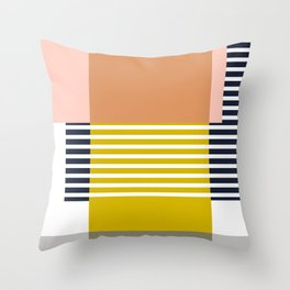 Marfa Abstract Geometric Print Throw Pillow