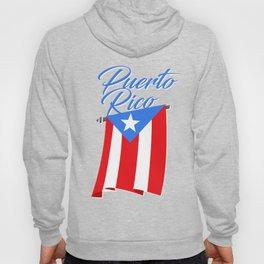 Big Puerto Rico Flag Hoody